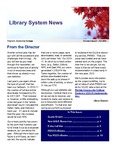 Library System News, Fall 2011 by VCCS Library Services