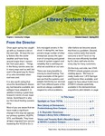 Library System News, Spring 2013