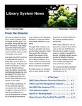 Library System News, Spring 2015